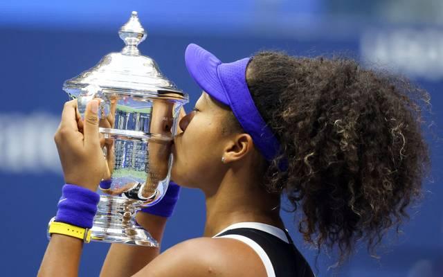 Naomi Osaka gewann die US Open 2020 im Finale gegen Victoria Azarenka