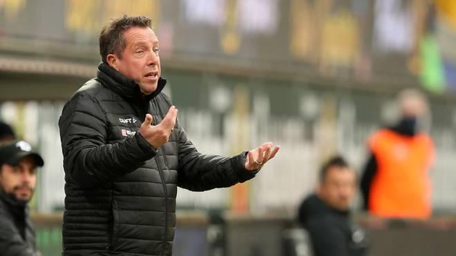Markus Kauczinski, Trainer von Dynamo Dresden, hat Corona