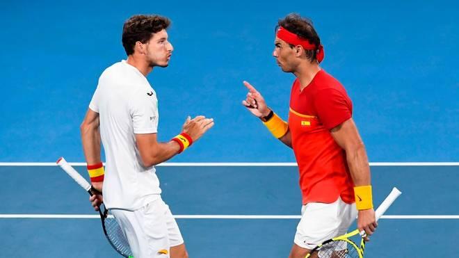 Rafael Nadal und Pablo Carreno Busta machten es spannend