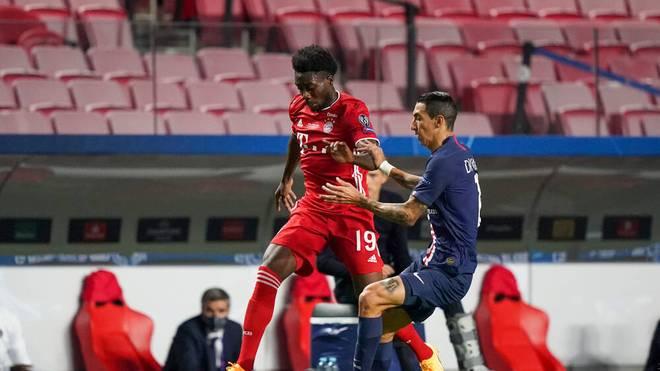 Alphonso Davies gewann mit dem FC Bayern München in dieser Saison das Triple