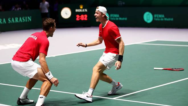 Kanada steht im Finale des Davis Cups