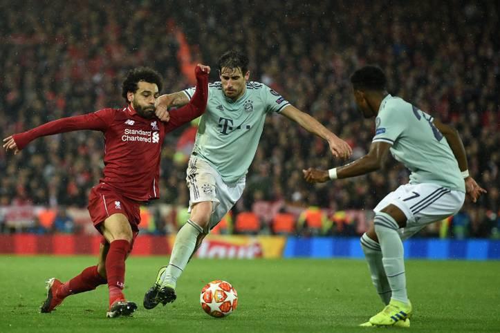 Der FC Liverpool und der FC Bayern zeigen ein intensives und umkämpftes Champions-League-Duell, allein die Tore bleiben aus