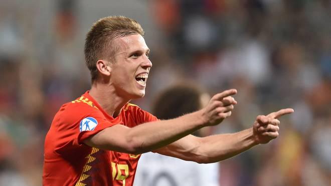 Mit Spanien gewann Dani Olmo die U21-Europameisterschaft