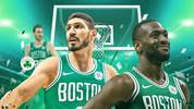 Boston Celtics Teamcheck Kemba Walker, Enes Kanter, Gordon Hayward