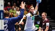 Timo Kastening durfte sich mit Deutschland über einen Sieg gegen Lettland freuen. In der Hauptrunde wird es aber schwer