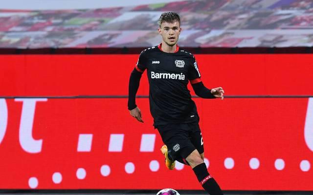 Daley Sinkgraven fehlt Bayer Leverkusen bei Eintracht Frankfurt
