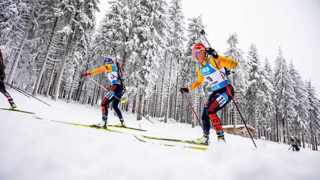 Denise Herrmann geht in der Mixed Staffel an den Start