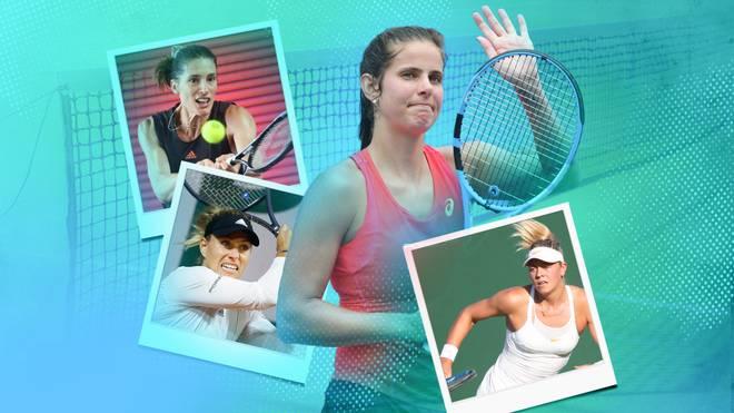 Julia Görges (M.) tritt überraschend zurück. Löst sie damit eine Welle im deutschen Tennis aus?