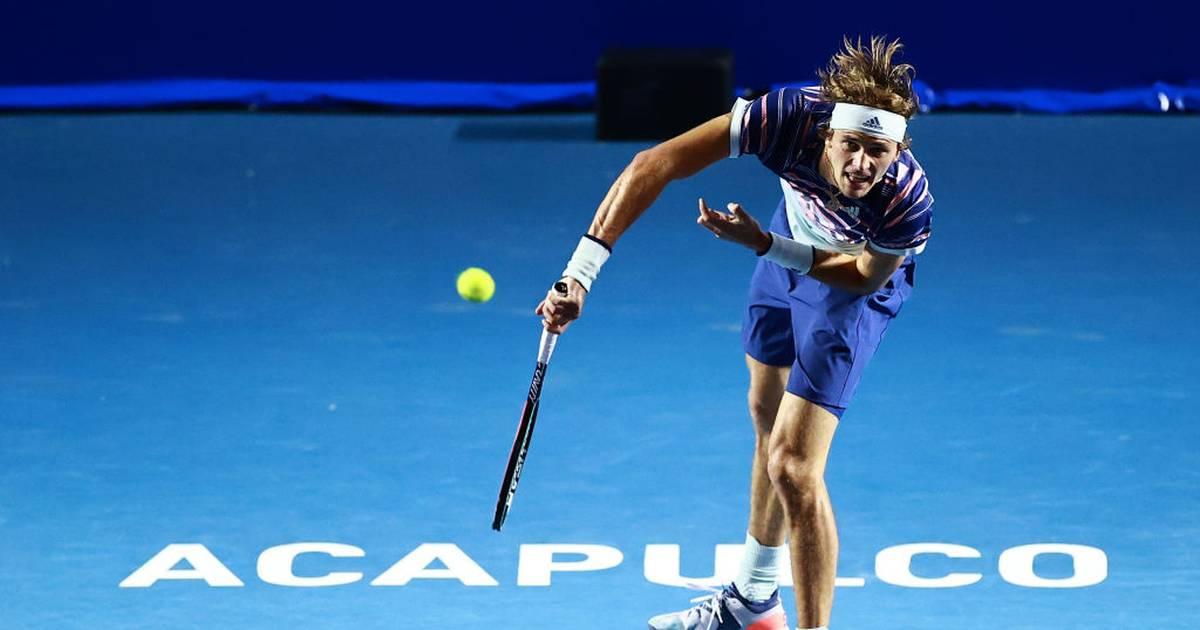 Tennis: Alexander Zverev zieht bei ATP-Turnier in Acapulco in zweite Runde ein