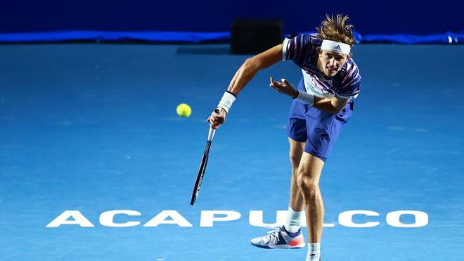 Alexander Zverev steht in der zweiten Runde des ATP-Turniers in Acapulco