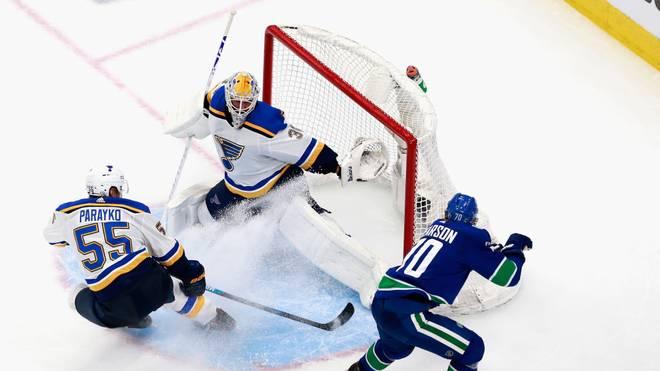Die St. Louis Blues unterlagen in der ersten Playoff-Runde den Vancouver Canucks