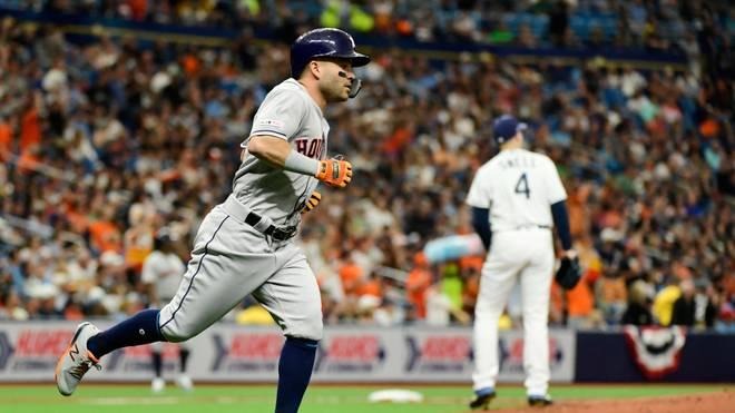 Die Houston Astros treffen in der 24. Spielwoche der MLB auf die Tampa Bay Rays