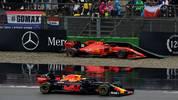 F1 Grand Prix of Germany In der Kurve 17 hatten heute einige Fahrer so ihre liebe Mühe