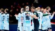 Deutschlands Trainer Christian Prokop im Gespräch mit Paul Drux