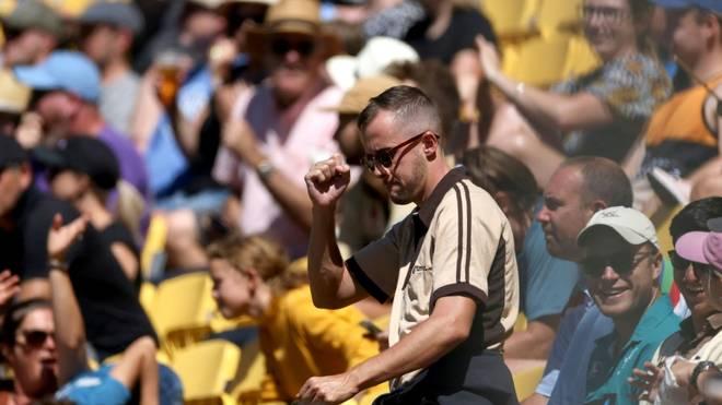 Über 78.000 Fans kamen zum Melbourne Cricket Ground