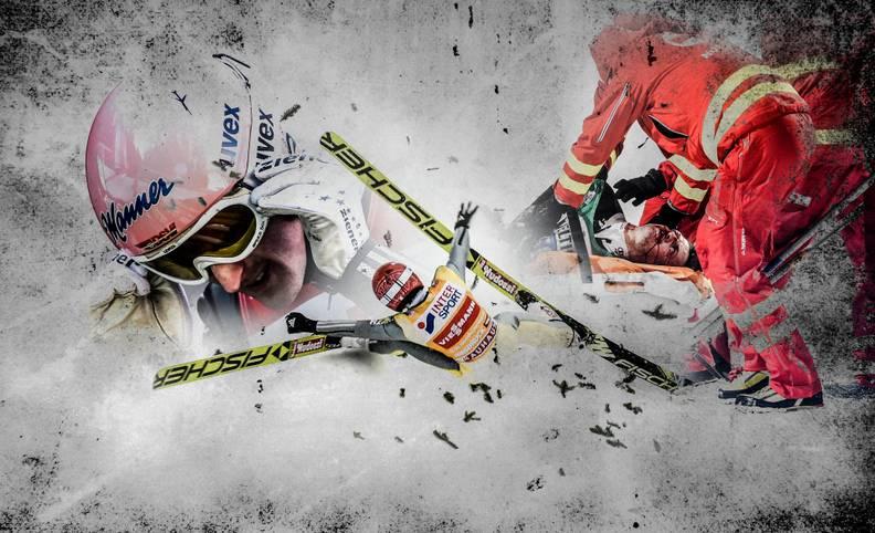 Für Richard Freitag sind nach seinem Sturz in Innsbruck alle Hoffnungen auf einen Sieg bei der Vierschanzentournee vorbei. Mit seinem Schicksal ist der 26-Jährige nicht allein. SPORT1 blickt zurück auf die größten Dramen bei der Vierschanzentournee