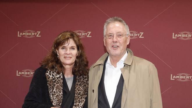 Ulrike Nasse-Meyfarth und Mann Roland Nasse bei einer Gala in Köln 2020