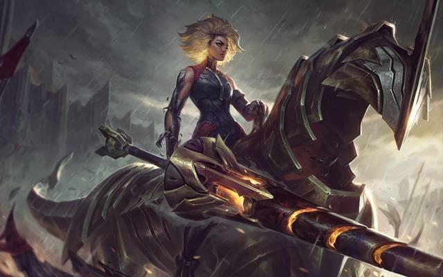 Rell ist der neueste League of Legends Support Champion!
