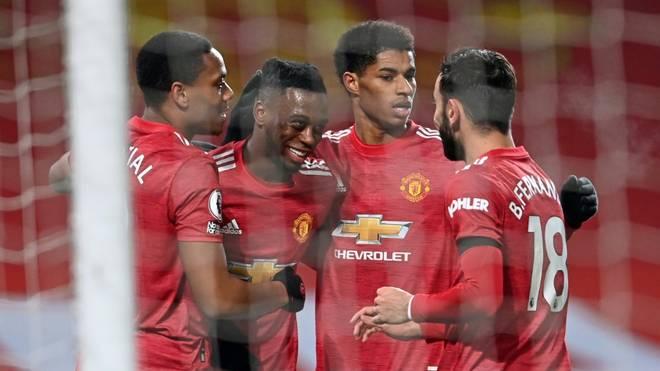 Manchester United feiert gegen Southampton einen Rekordsieg