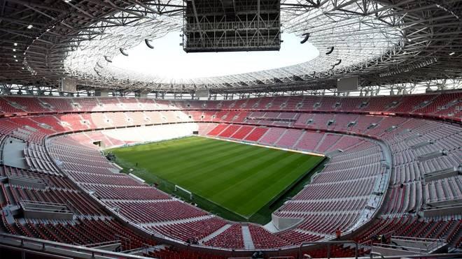 In der Puskas Arena von Budapest steigt das Europa-League-Finale 2022