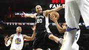 PLATZ 7: Manu Ginobili (San Antonio Spurs) - 17 Saisons (seit 2002)