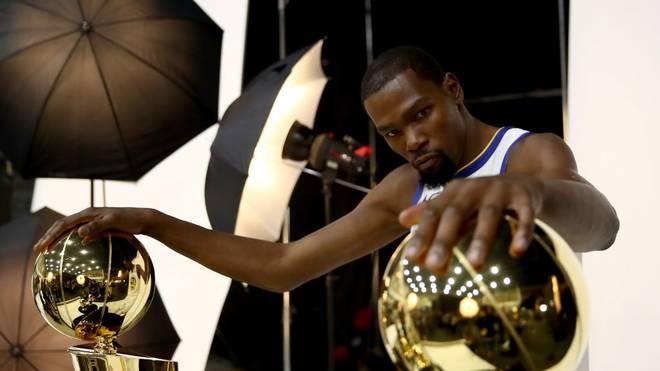 Kevin Durant wechselte im Sommer zu den Brooklyn Nets
