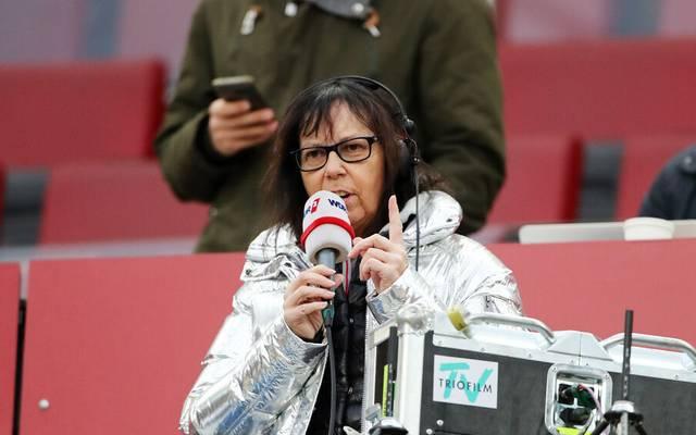 Sabine Töpperwien arbeitete 35 Jahre lang als Fußball-Reporterin beim Radio