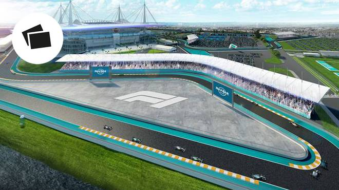 Rund um das Stadion der Miami Dolphins soll die neue Strecke in Florida verlaufen