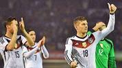 Toni Kroos (r.) und Deutschland siegen im 22. Duell mit Europameister Spanien. ZUM DURCHKLICKEN: Die Bilder zum Länderspiel