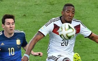 Jerome Boateng (r.) hat bei der WM alle sieben Spiele des DFB-Teams bestritten