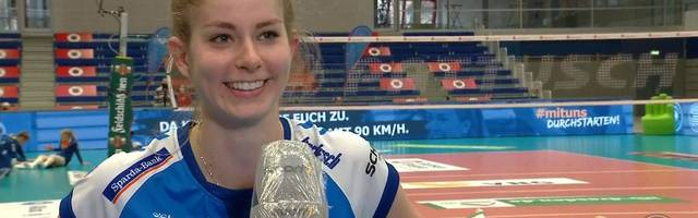 """Volleyball Bundesliga: Kästner über Finalsieg gegen Dresden: """"Bringt uns nichs!"""""""