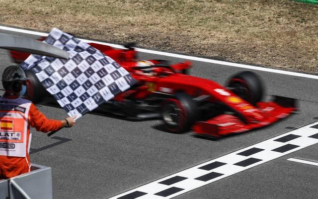 Flaggen der Formel 1: SPORT1 erklärt die wichtigsten Flaggen in der F1!