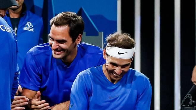 Rafael Nadal und Roger Federer pflegen eine sehr positive Rivalität