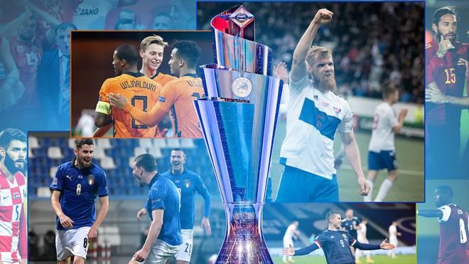 Die Färinger (r. vom Pokal) können am heutigen Abend den Aufstieg in die C-Liga perfekt machen