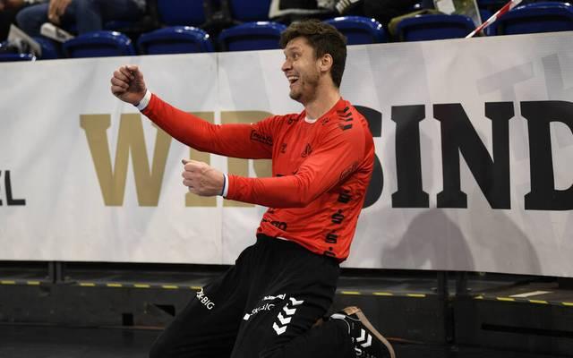 Niklas Landin war für den THW Kiel gegen Flensburg der Mann des Spiels