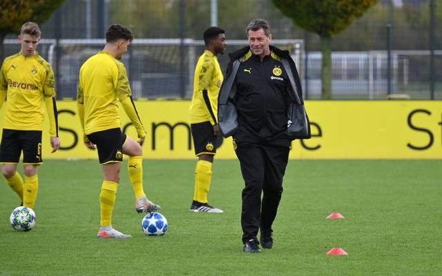 Michael Skibbe ist der nicht mehr Trainer der U19 beim BVB