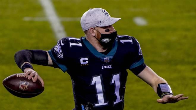 Carson Wentz wird zukünftig für die Colts spielen