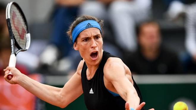 Andrea Petkovic hat beim WTA-Turnier in Linz das Achtelfinale erreicht