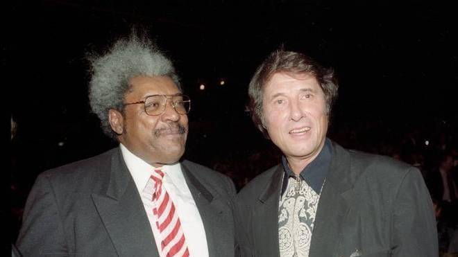 Don King traf beim Schulz-Botha-Fight unter anderem auf Schlagerlegende Udo Jürgens