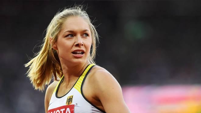 Gina Lückenkemper spricht sich für eine Rente für Sportler aus