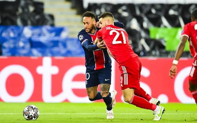 Lucas Hernández hatte mit Neymar und Co. alle Hände voll zu tun