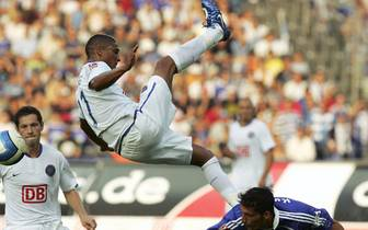 In den zwei Spielzeiten für die Berliner erzielt der Mittelfeldspieler (oben, gegen Kevin Kuranyi) fünf Treffer