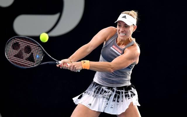 Angelique Kerber verliert ihr Auftaktmatch in Brisbane