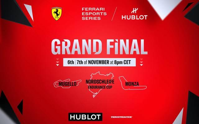 Ferrari Hublot Esports Series - Alle Infos zum großen Finale
