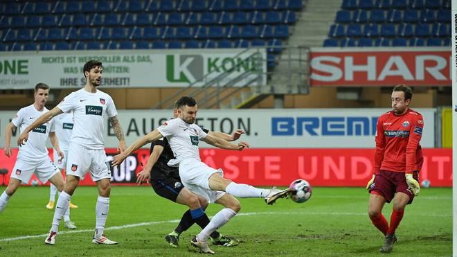 Der 1. FC Heidenheim und der SC Paderborn trennten sich 1:1