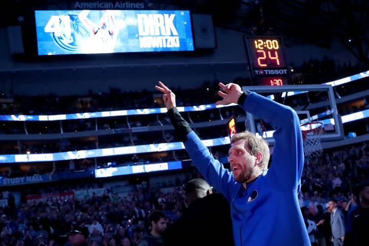 Dirk Nowitzki arbeitet in der NBA weiter an seinem Legendenstatus. In seiner 21. und womöglich letzten Saison hat der deutsche Superstar weitere Meilensteine erreicht