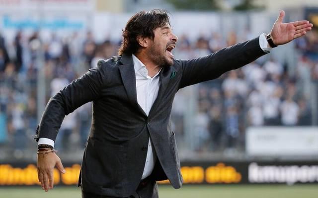 Ciriaco Sforza als Trainer des FC Wil