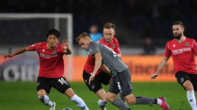 Hannover 96 muss sich beim 1. FC Nürnberg beweisen