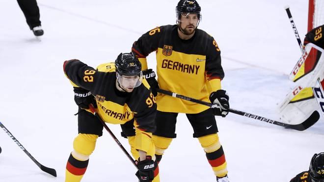 Marcel Noebel und Yannic Seidenberg sind beim Deutschland Cup im Einsatz