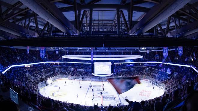 In der SAP Arena hätten die Adler Mannheim gegen die Boston Bruins spielen sollen